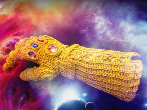 pic of knit glove